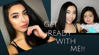 GET READY WITH ME (WORK EDITION) | Lucero Diaz
