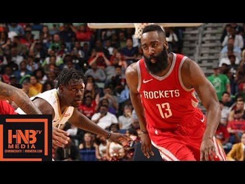 Houston Rockets vs New Orleans Pelicans Full Game Highlights / March 17 / 2017-18 NBA Season