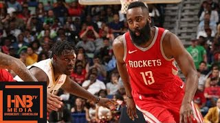 connectYoutube - Houston Rockets vs New Orleans Pelicans Full Game Highlights / March 17 / 2017-18 NBA Season