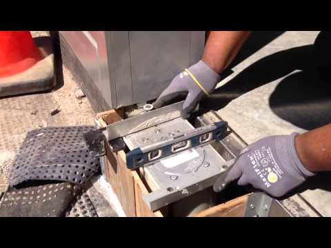 setting rixson floor closer kharner - youtube