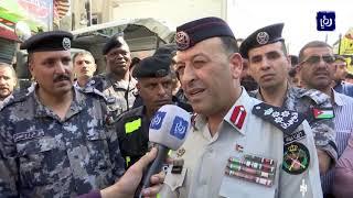 وفاة واصابات بتصادم شاحنة وتسع مركبات في عمان - (11-6-2019)
