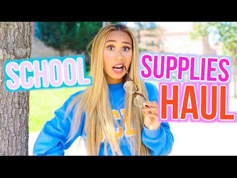 Thumbnail: School Supplies Haul 2016! | BACK TO SCHOOL WITH MYLIFEASEVA