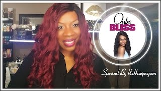 💋 Outre Bliss Wig Review💋 - Sponsored by Blackhairspray.com