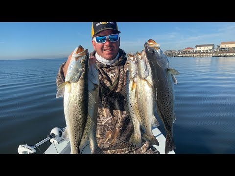 Lake Pontchartrain Speckled Trout Fall/Winter Fishing