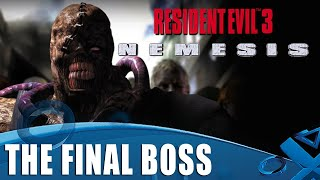 Resident Evil 3 - The Final Boss on PS1