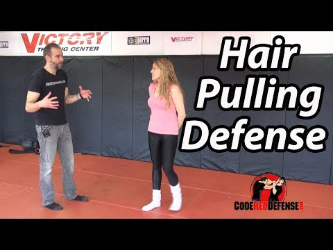 Defense against Hair Pulling (Women Self Defense)