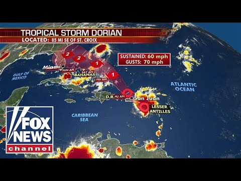 Live: Tracking Hurricane Dorian