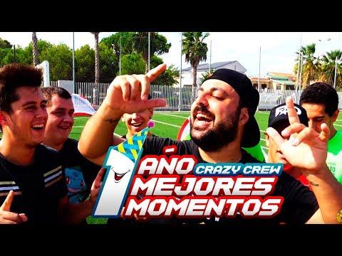 MEJORES MOMENTOS ¡RETO FÚTBOL! FUNNY MOMENTS [1 año Crazy Crew]