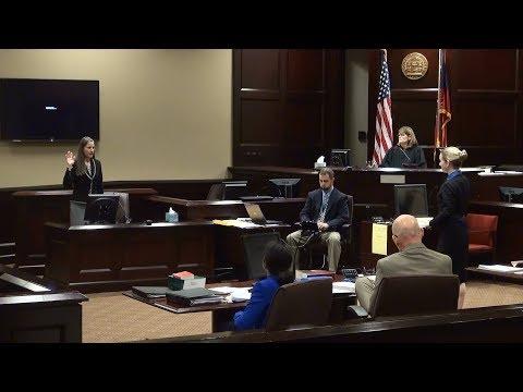 Day 5 Trial of Citizen Journalist Nydia Tisdale in Dawsonville, Dawson County, GA 12/01/17