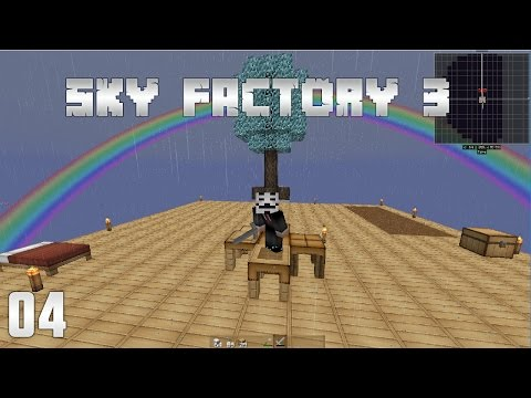 SkyFactory 3 EP4 Overpowered Sieving System