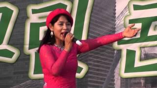 가수 강민서 - 꿩의 바람 / 소리새 예술단의 문화 한마당 신길역 (샛강 그린 콘서트) 공연 2014.7.16