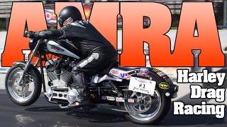 AMRA Nitro Harley Davidson motorcycle drag racing 2015