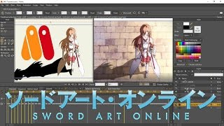 Sword Art Online Reanimated (Anime Studio Pro/Moho 12 Tutorial)