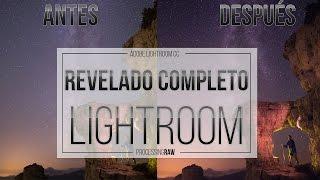 Revelado RAW con Vía Láctea en Adobe Lightroom