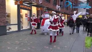 kerstsfeer in centrum van Assen 2018