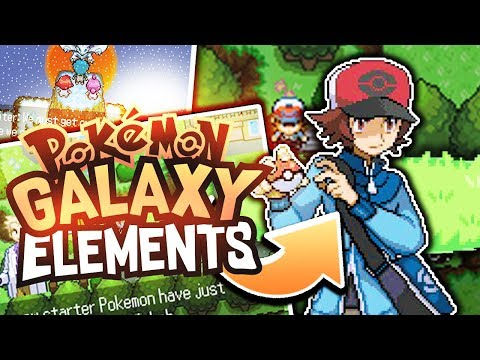 Pokémon Galaxy Elements - Pokemon Rom Hack - GAMEPLAY Showcase and Download