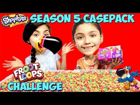 SHOPKINS SEASON 5 FULL CASE Opening | Fruit Loops Challenge | TMNT T-Sprints BeBe Bartoons