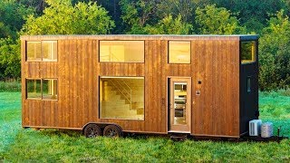 Baixar The Escape One Xl Tiny Home On Wheels By Escape Homes   Living Design For A Tiny House
