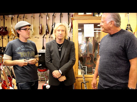 Joe Walsh (Eagles) and Joe Bonamassa at Norman's Rare Guitars