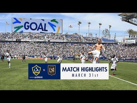 HIGHLIGHTS: LA Galaxy v. LAFC | March 31, 2018