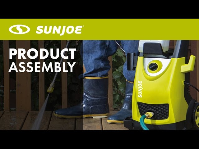 SPX3000 - Sun Joe 2030 PSI 1.76 GPM 14.5-Amp Electric Pressure Washer - Let's Open the Box