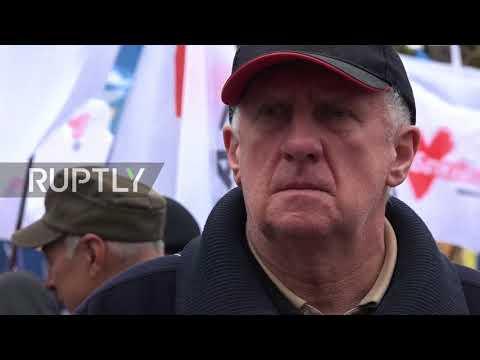 Ukraine: Thousands rally in Kiev in support of Saakashvili