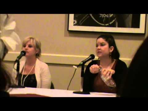 Rosario + Vampire Voice Actor Panel with Tia Ballard and Colleen Clinkenbeard at Anime Odyssey 2013