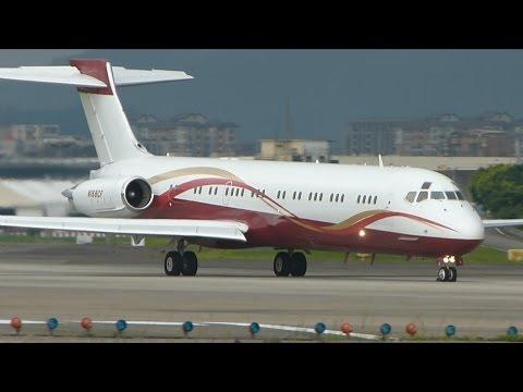仙妮蕾德 Sunrider Jet MD-87 N168CF