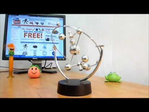 Kinetic Solar System Desk Toy Avi Doovi