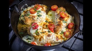 Iftar With Chef Stone Day 16 - Chef Stone's Skillet Chicken Caprese