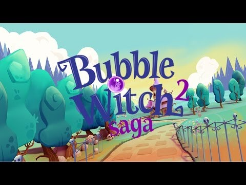 Bubble Witch Saga 2 - iOS / Android - HD (Sneak Peek) Gameplay Trailer