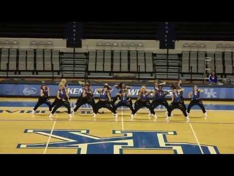 University of Kentucky Dance Team Hip Hop Nationals Preview 2013