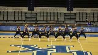 University of Kentucky Dance Team Hip Hop Nationals Preview 2013