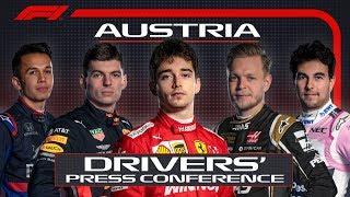 2019 Austrian Grand Prix: Pre-Race Press Conference