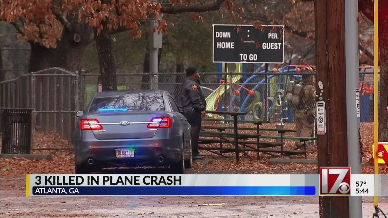3 killed in Atlanta crash of Tennessee-bound jet