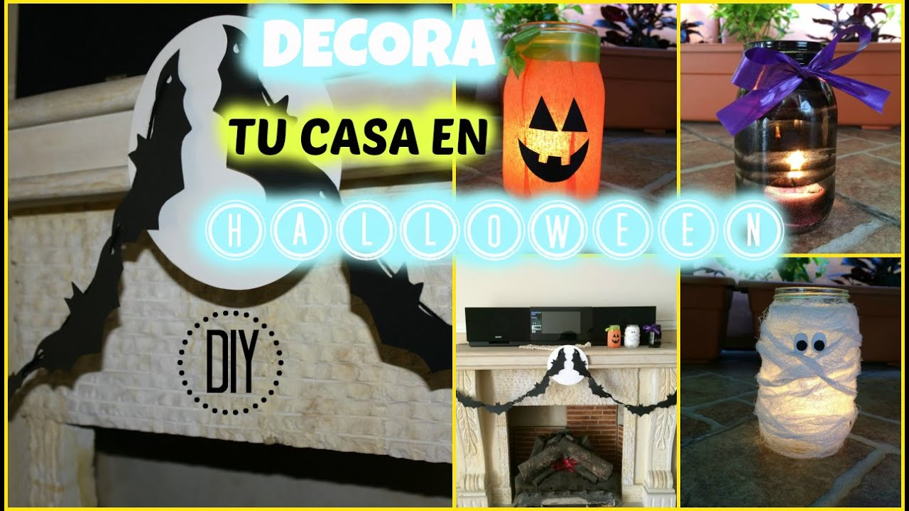 Diy incre bles ideas para decorar tu casa en halloween - Manualidades para decorar tu casa ...