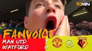 Marcus Rashford gives United a win against Watford | Man Utd 1-0 Watford| 90min FanVoice