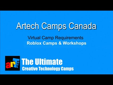Requirements In Roblox Artech Camps Requirements For Roblox Virtual Camps Workshops Youtube