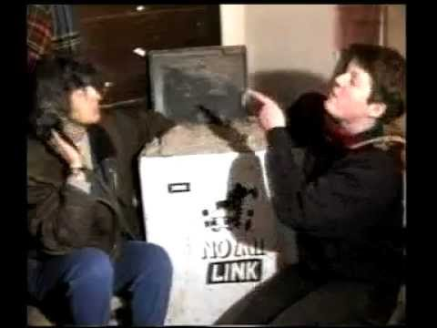 Trailer- You gotta be choking! -road protesting against M11 link road 1994