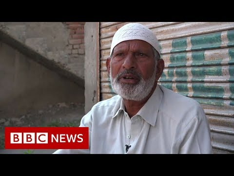 Shock and concern in locked down Kashmir - BBC News