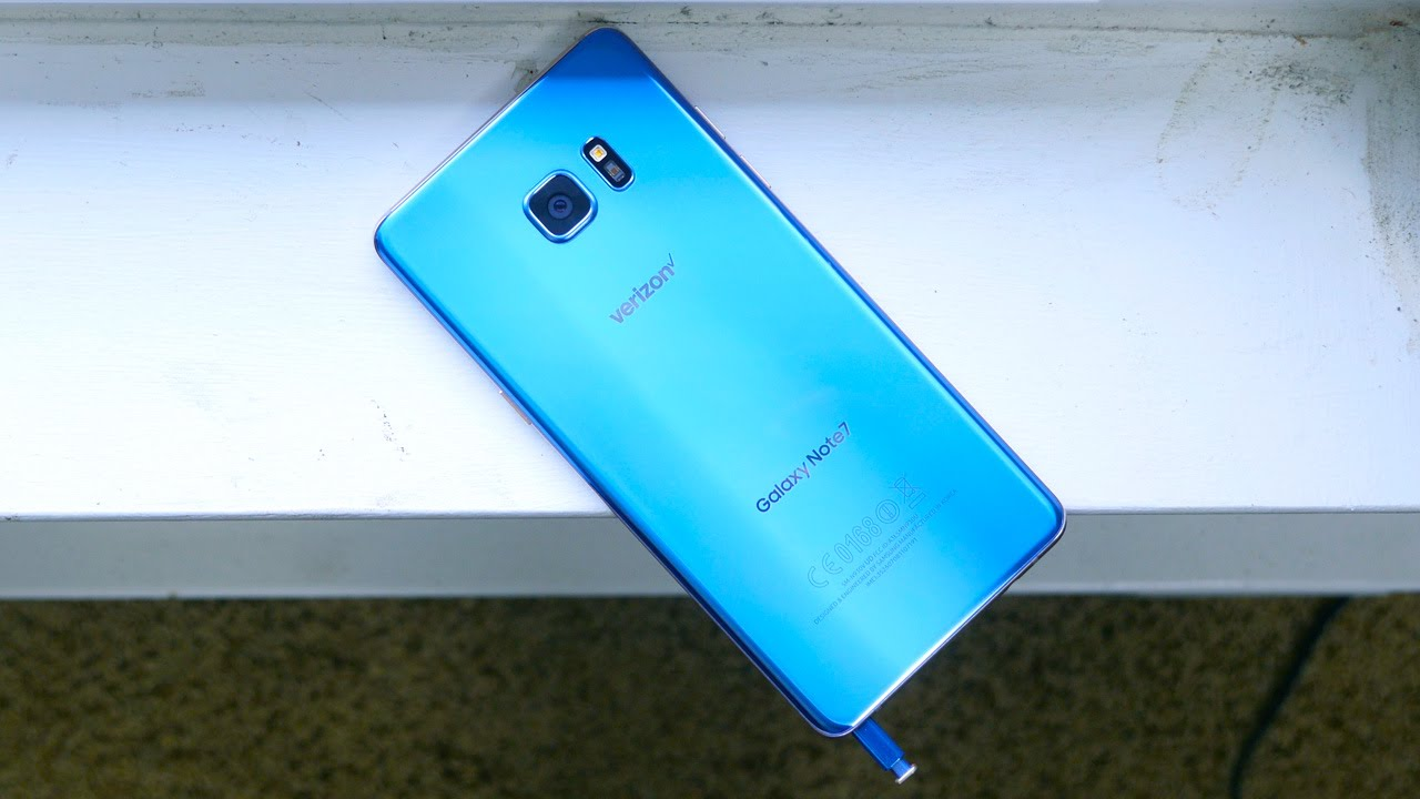Samsung Galaxy Note 7 Coral Blue: Hands-On