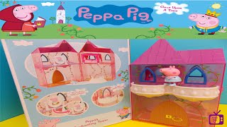 Peppa Pig Toys.  Enchanting Tower. Princess Peppa. Once Upon A Time.