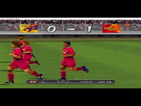 J-League Winning Eleven 2001 - Nagoya Grampus Eight vs Vegalta Sendai