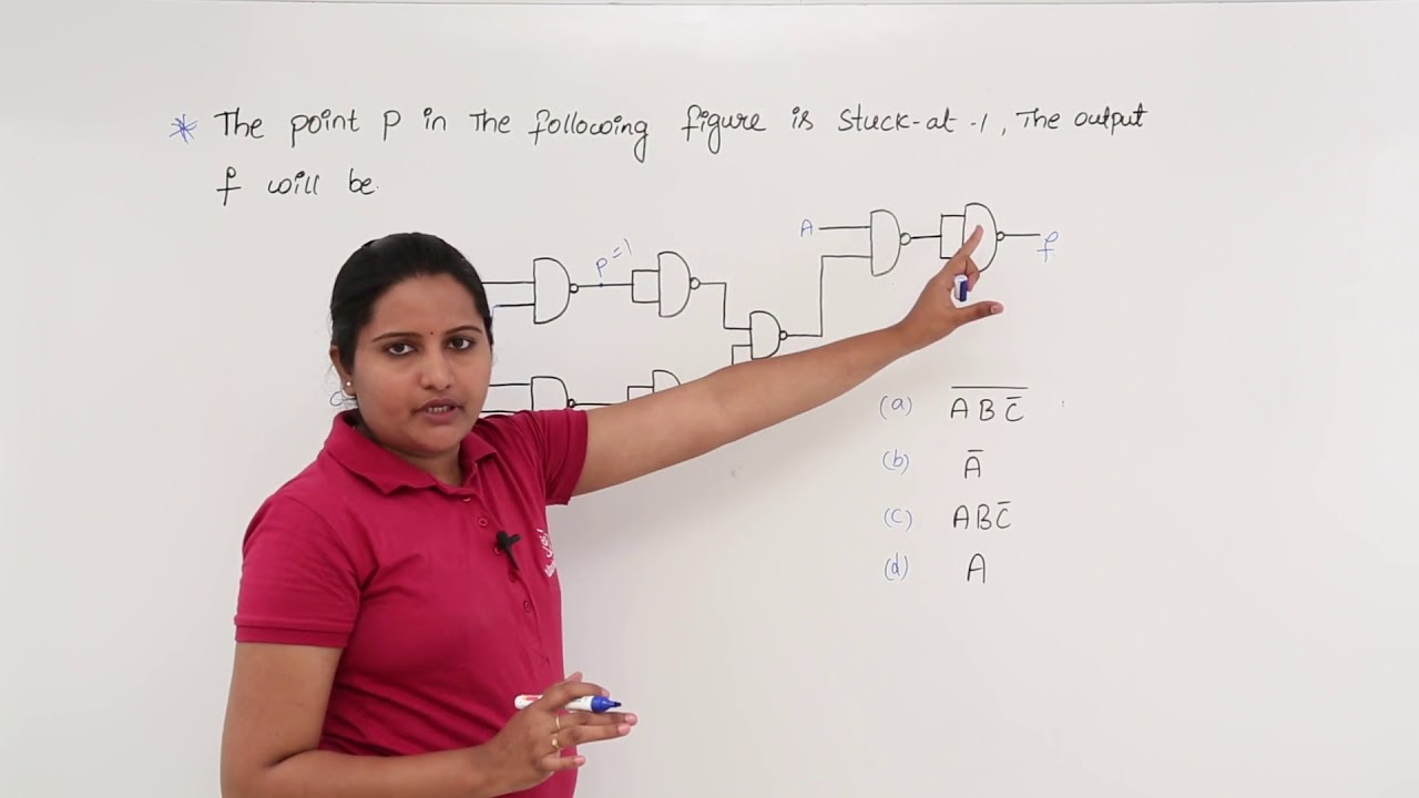 hight resolution of stuck at 1 fault in logic circuit