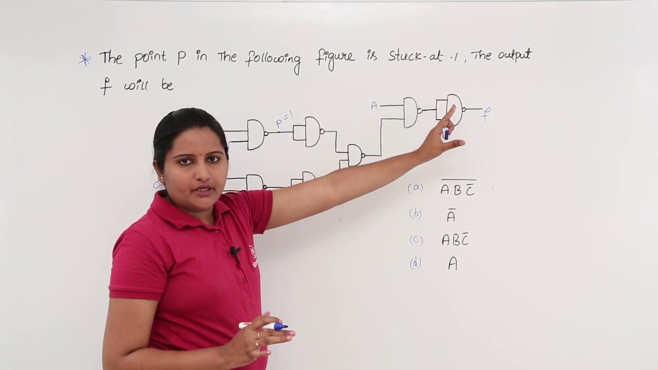 medium resolution of stuck at 1 fault in logic circuit