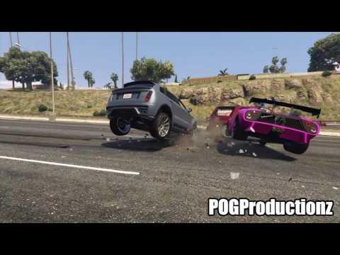 Best Car Crashes GTA 5 Episode 5