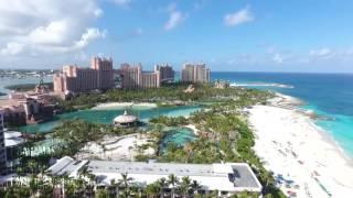 Atlantis Nassau Bahamas - (Paradise Island) Drone aerial view