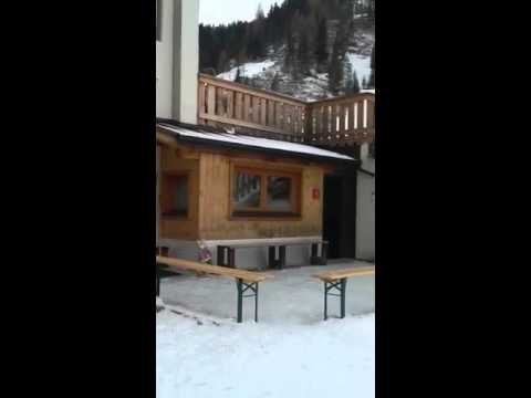 Location of chalet albergo frohsinn, san cassiano