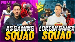 A_s Gaming Squad Vs Lokesh Gamer & Gyan Gaming Chaddi Challenge 😂😂😂 Squad Who Will Win??