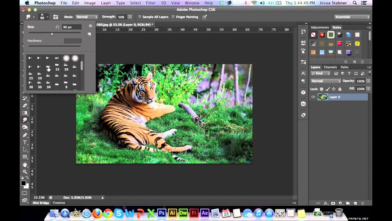 how to add bullets in photoshop cs3